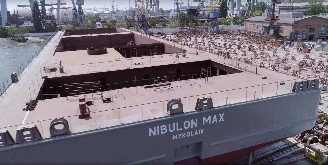 Компания «Нибулон» спустила на воду судно-гигант NIBULON Max