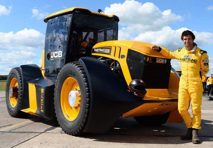 Встановлено новий світовий рекорд швидкості на тракторі