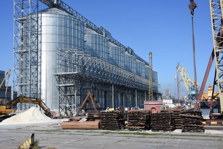 Строительство зернового терминала в Мариупольском порту скоро будет завершено