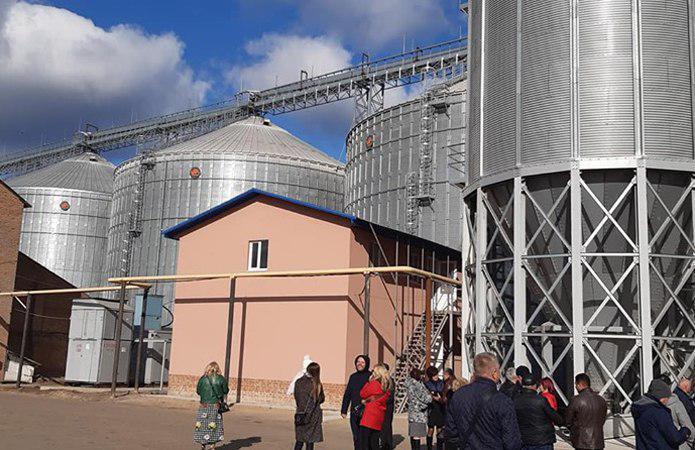 У Полтавській області ввели в експлуатацію ТОВ «Чутівський елеватор»