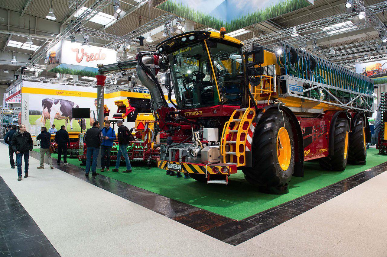 В Ганновере состоялось официальное открытие крупнейшей выставки сельхозтехники Agritechnica