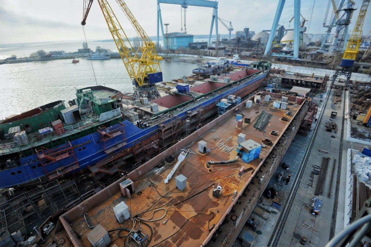 Компанія «НІБУЛОН» розпочала роботи по зведенню п'ятого судна в Миколаєві