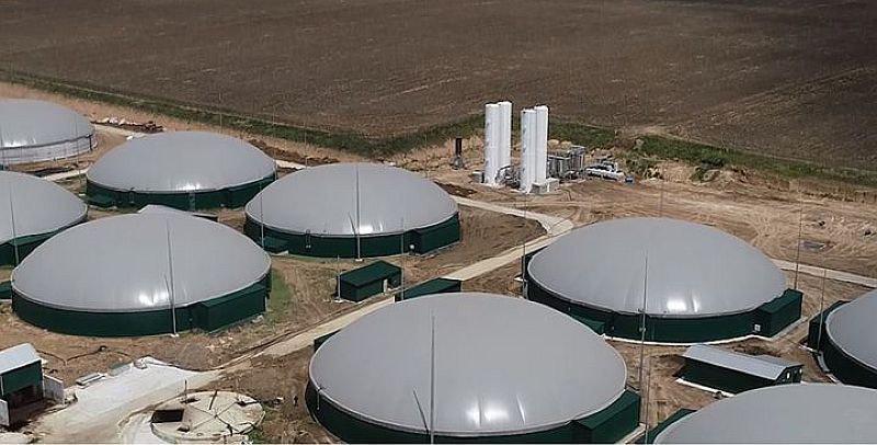 В Україні відбувся запуск першої черги найбільшого біогазового комплексу